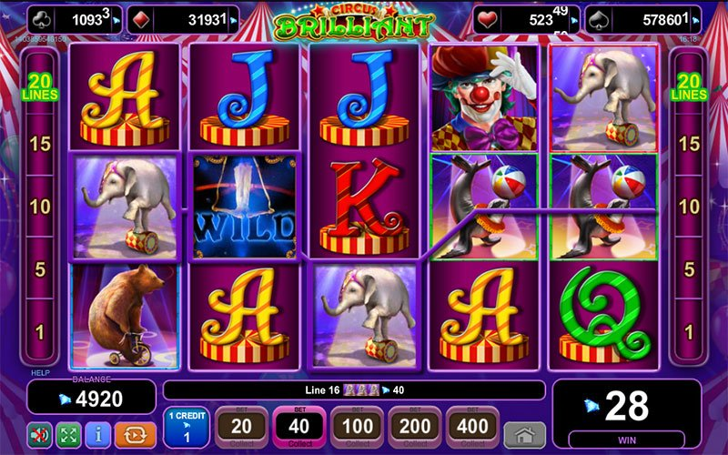 Circus free spins -277535