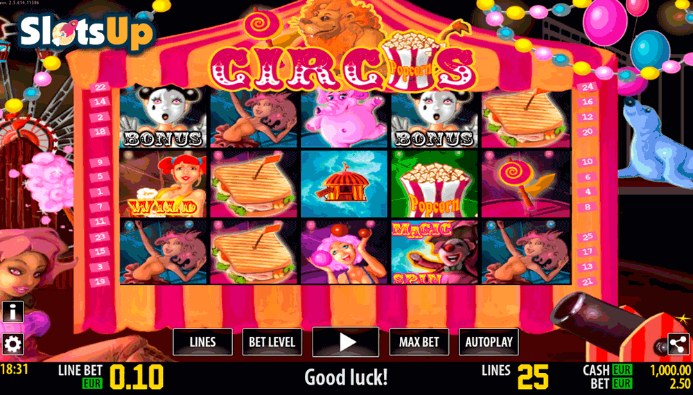 Circus free spins -960474
