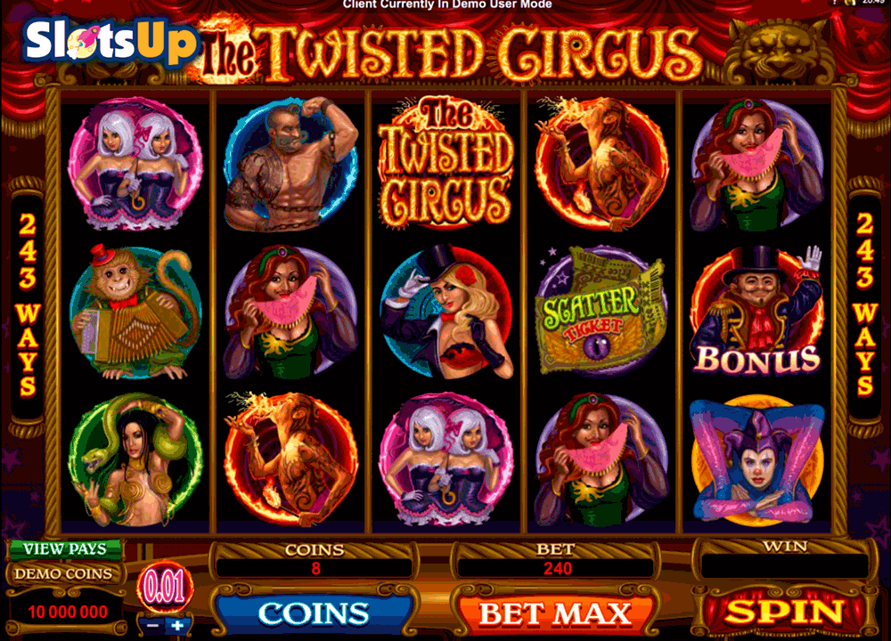 Circus free spins -842987