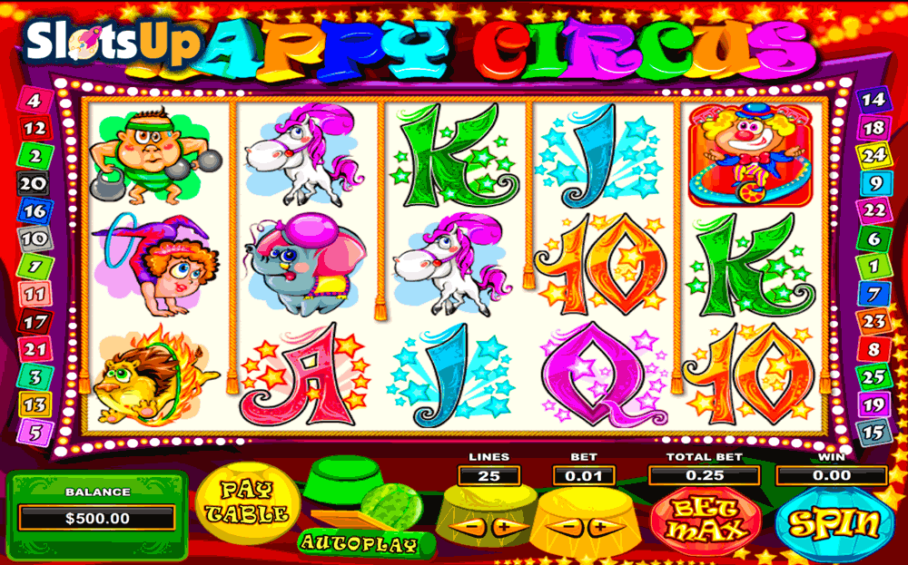 Circus free spins -720568