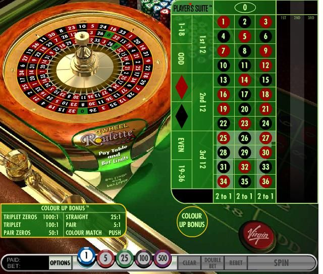 Roulette payout Omni -272827