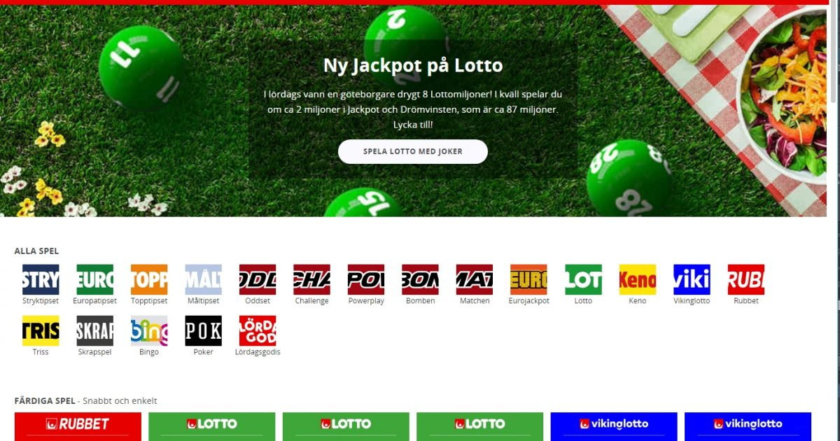 Miljardvinst lotto -322338
